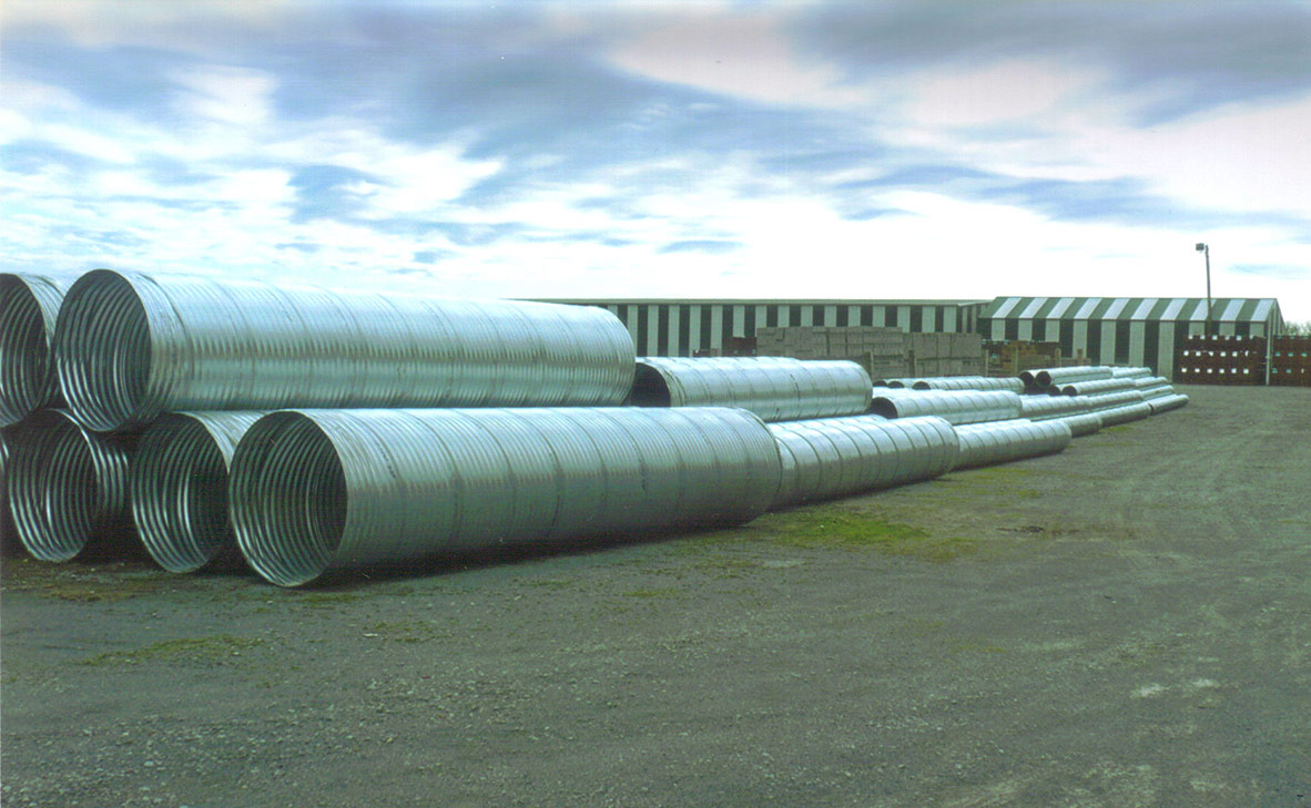 12 corrugated culvert pipe bing images for Mineral wool pipe insulation weight per foot